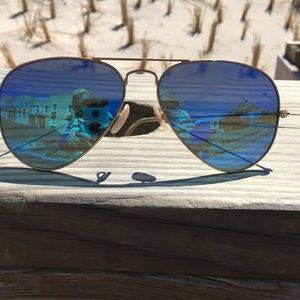 Ray Ban Blue flash polarize sunglasses